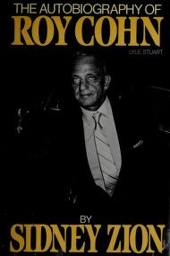 Cover of: The autobiography of Roy Cohn | Roy M. Cohn
